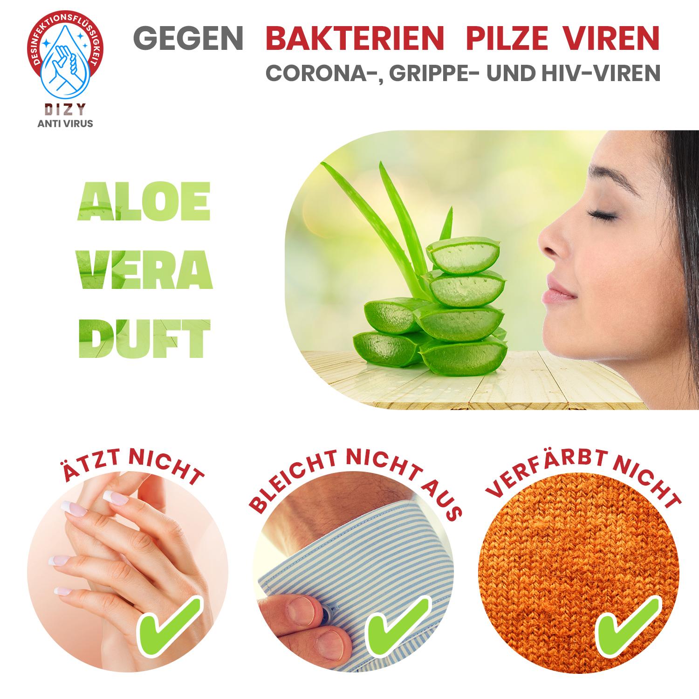 Oranges Desinfektionsmittel Von Haut Entfernen